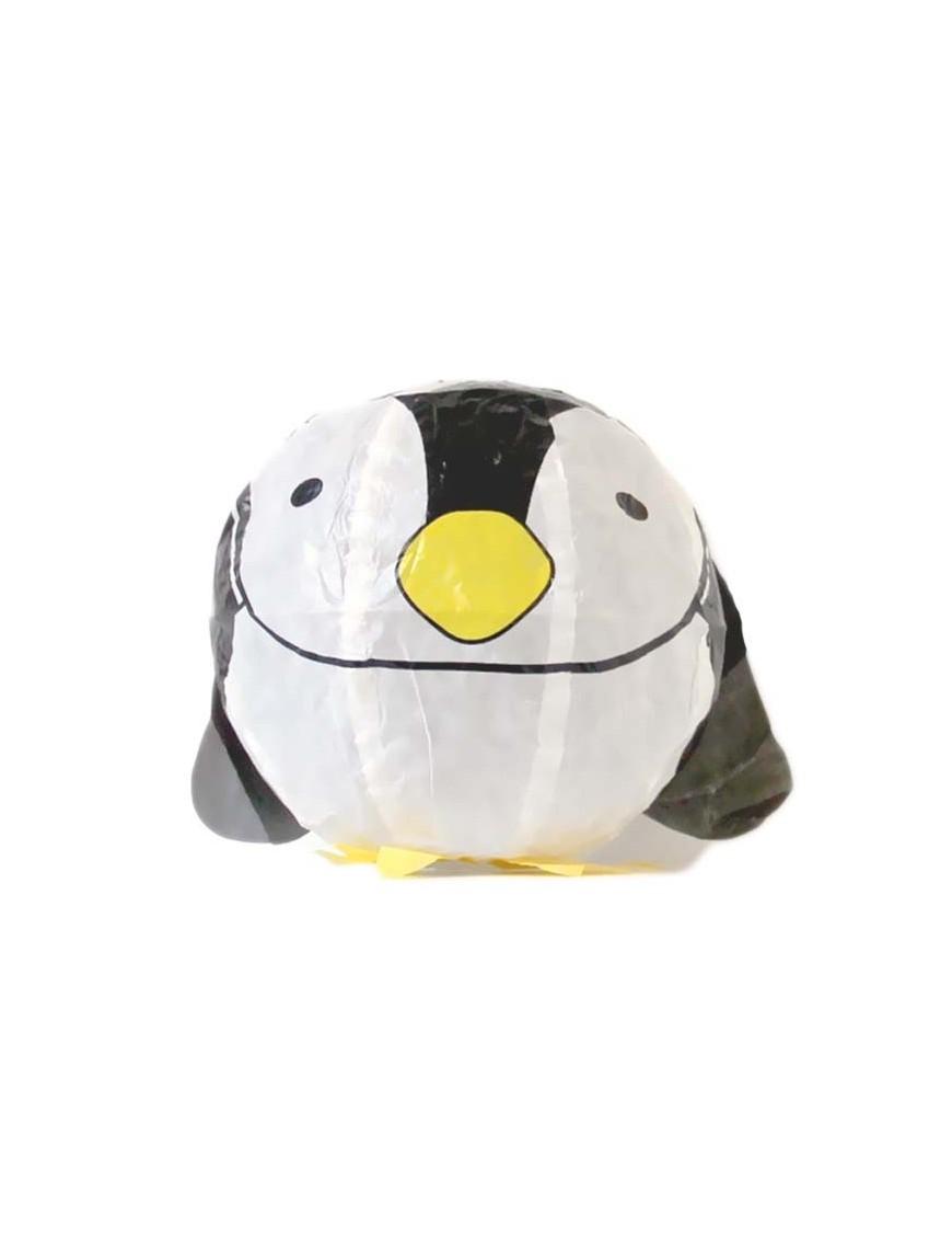 Kamifusen Ballon en Papier Japonais - Pingouin