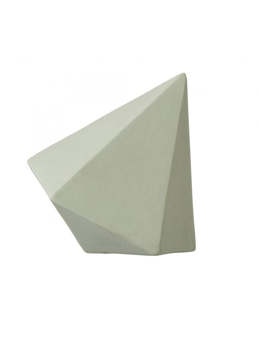 bloomingville objet déco mint diamond