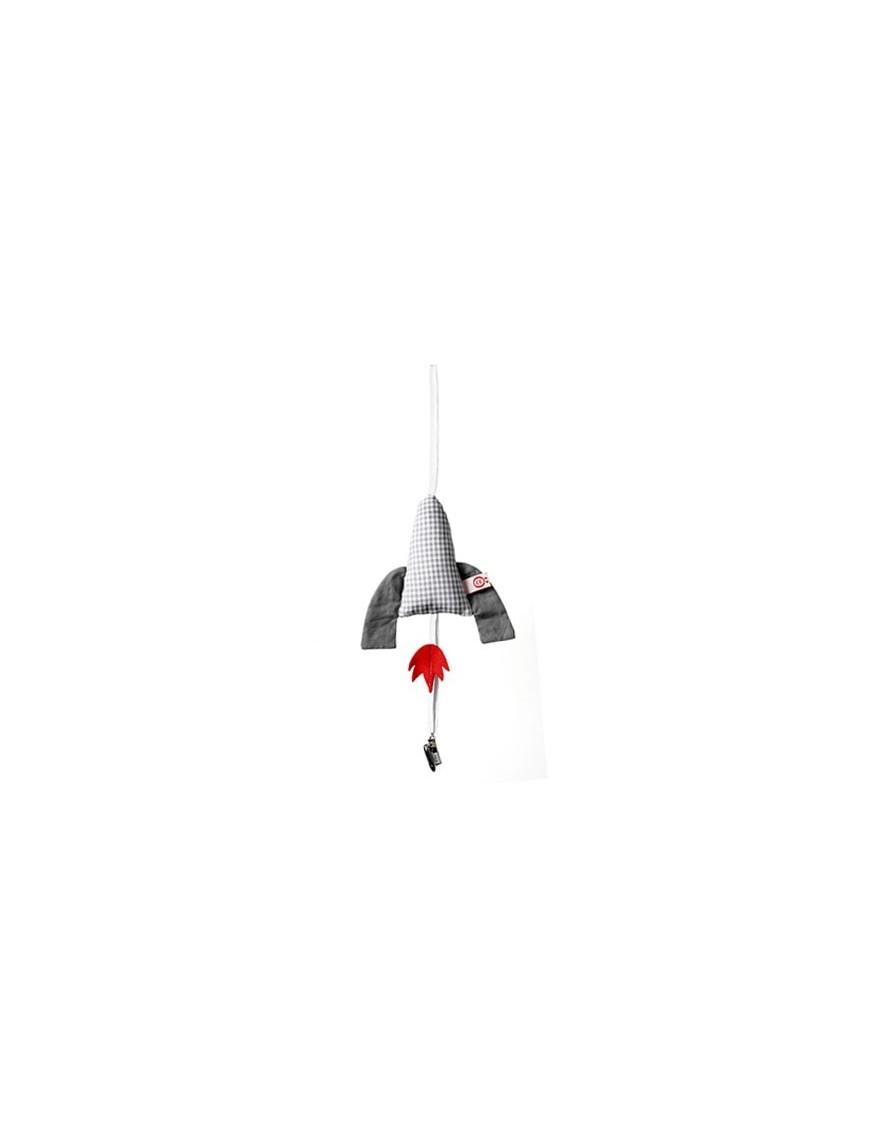 Attache-tétine Rocket, Esthex