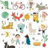 Affiche alphabet (50x70 cm) Studio Makii vers.uk