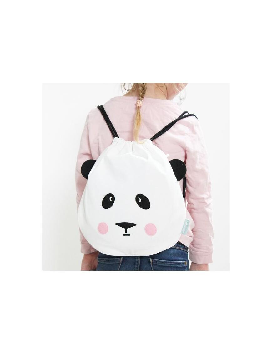 sac à dos coton panda