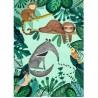 Affiche jungle (50x70cm) | Petit Monkey