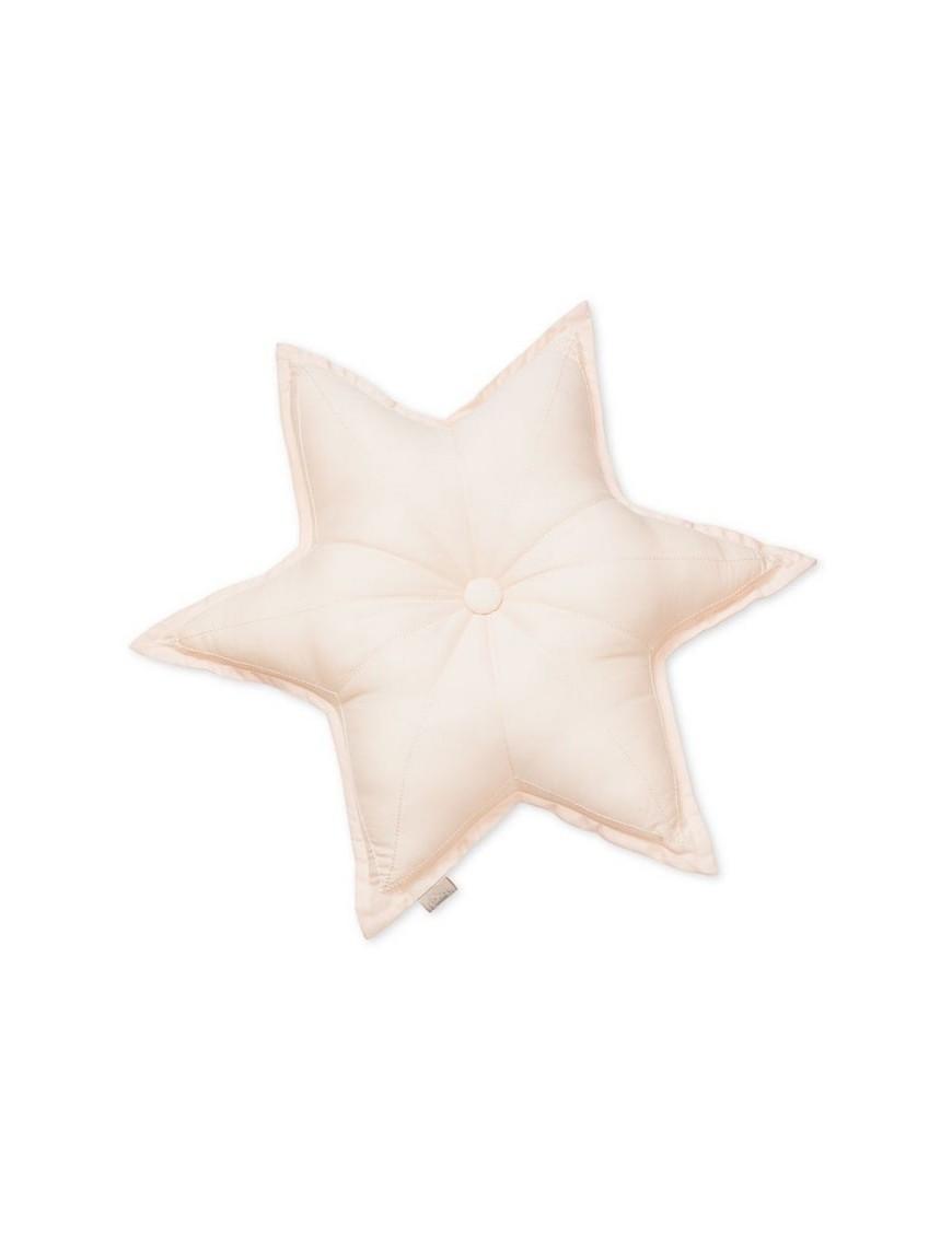 Camcam Copenhagen - coussin étoile rose (diam.50cm)