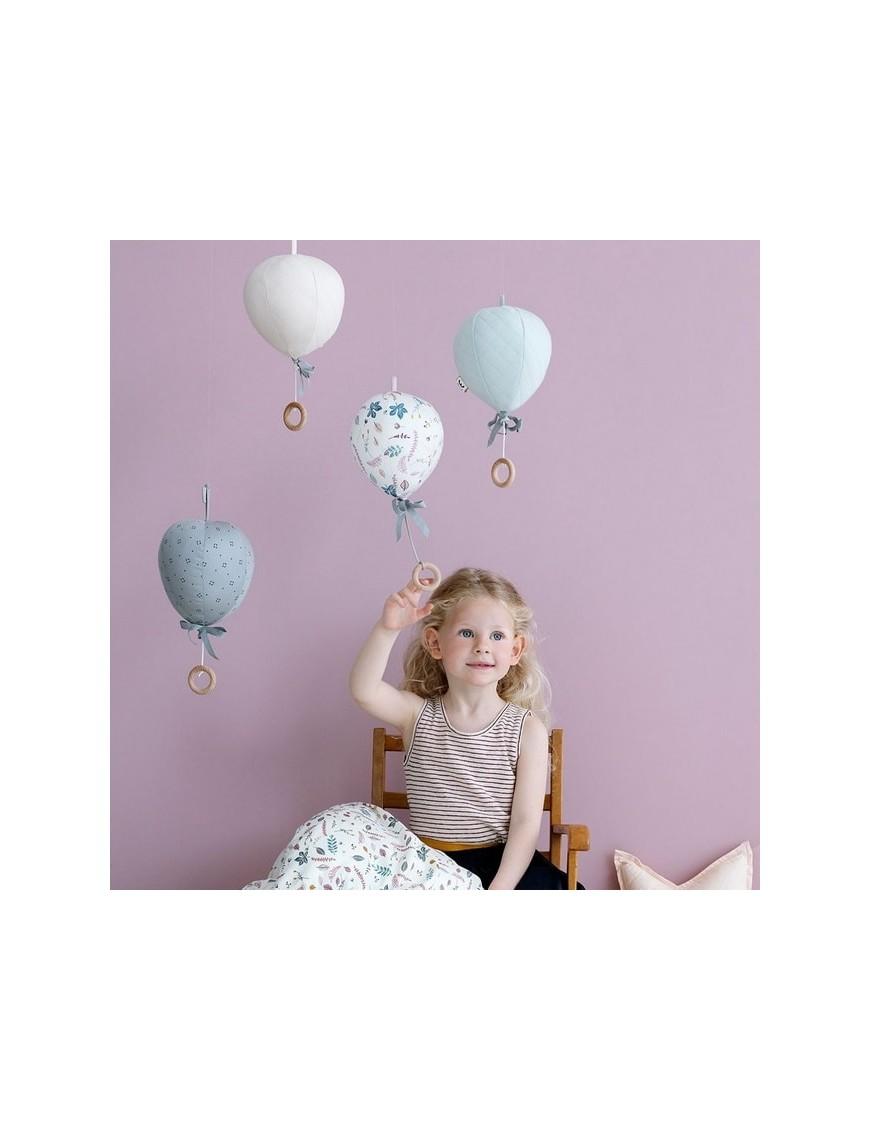 """Coussin musical ballon """"grey waves"""" CAMCAM"""