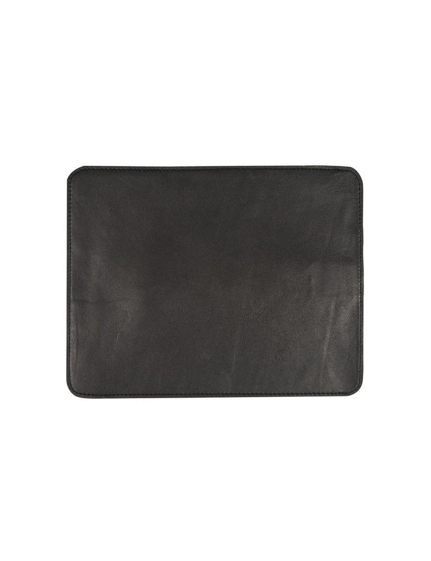 tapis de souris en cuir noir - Byon / On Interior