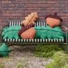 coussin gland : vert - Donna Wilson
