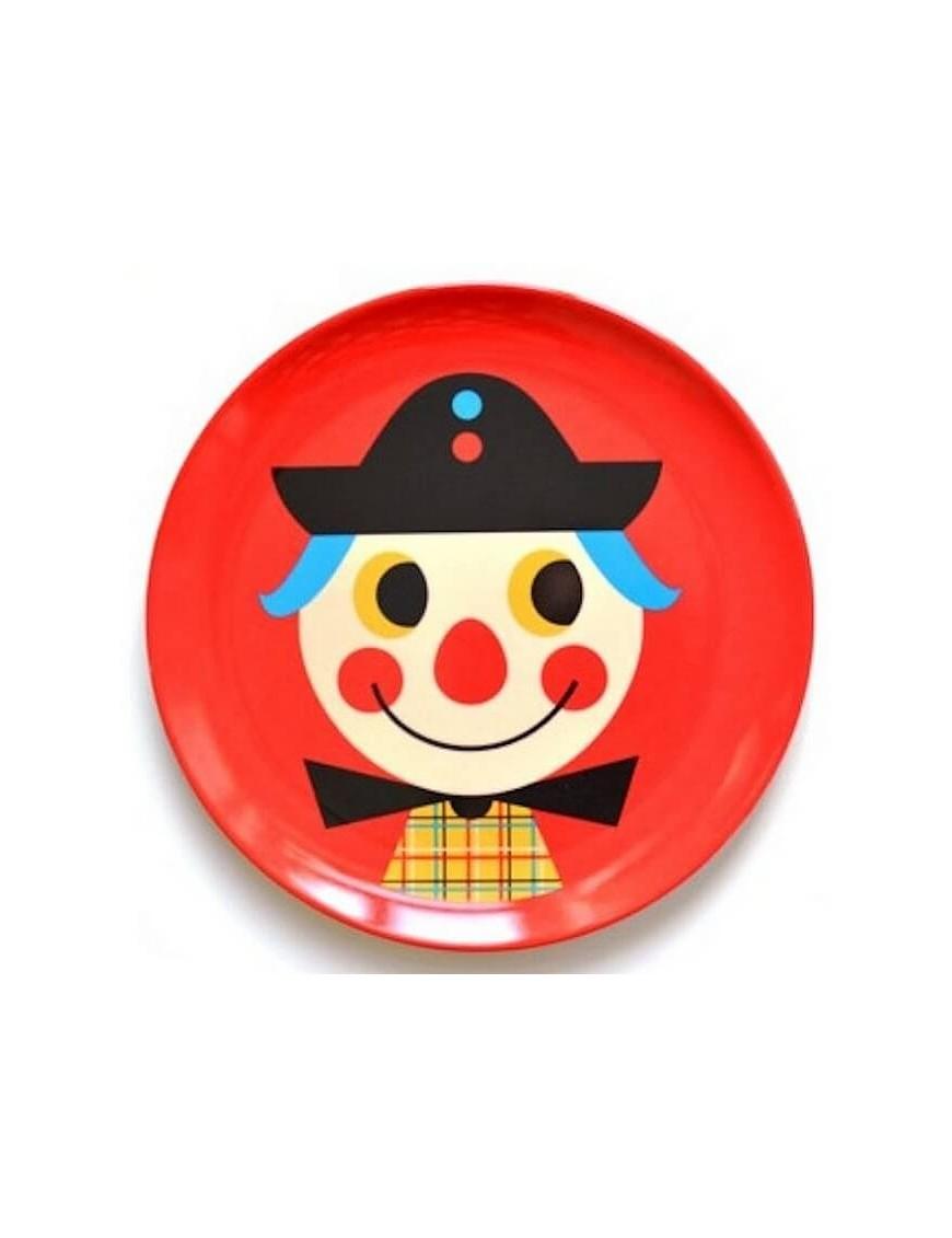 Ingela P. Arrhenius - assiette enfant clown