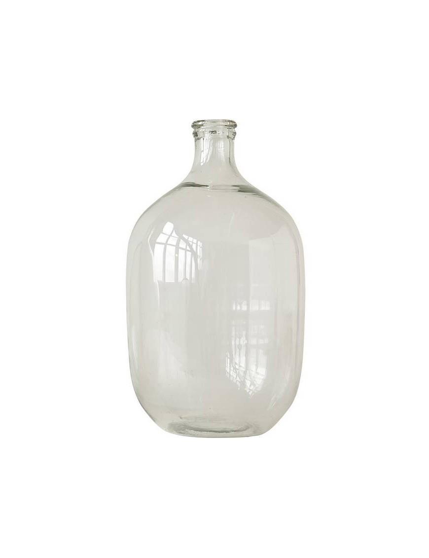 Bloomingville - grande bouteille décorative en verre