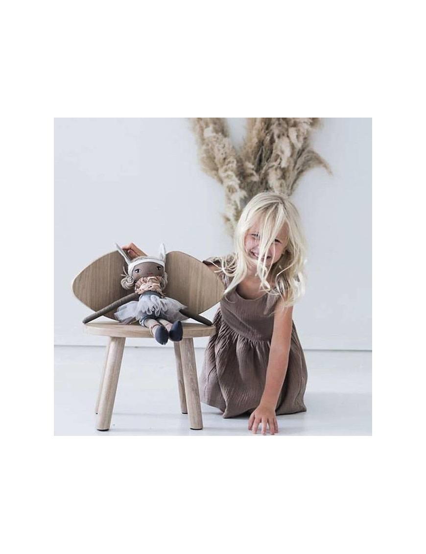Chaise enfant Mouse 100% chêne (2-5ans)