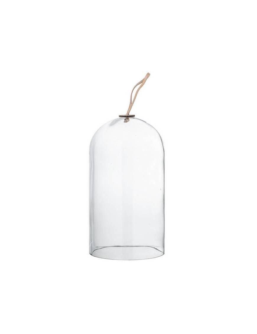 Cloche en verre transparent Bloomingville Ø14xH25 cm