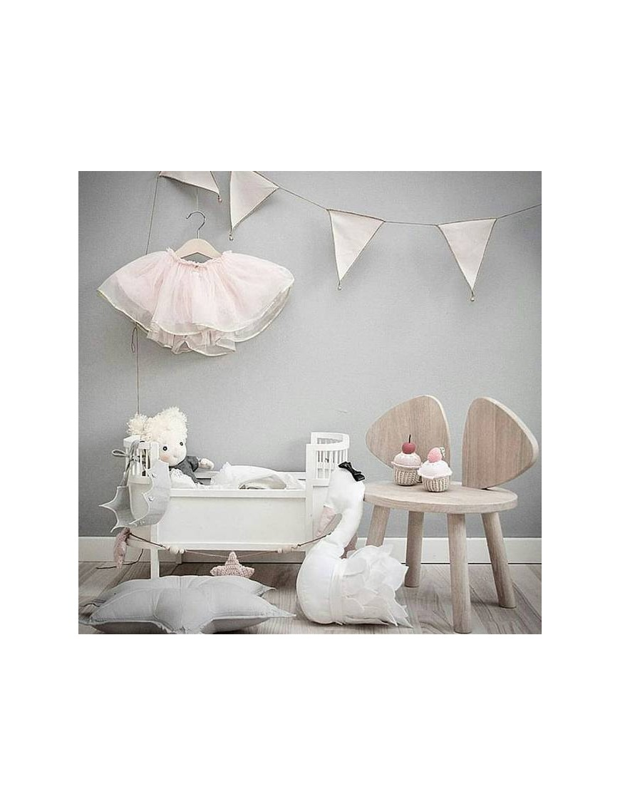 lit de poupée design blanc - Smallstuff