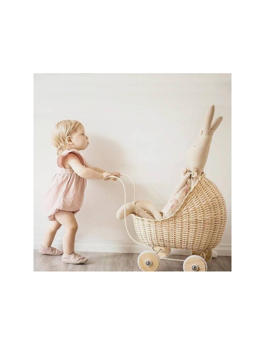 landau de poupée naturel Smallstuff