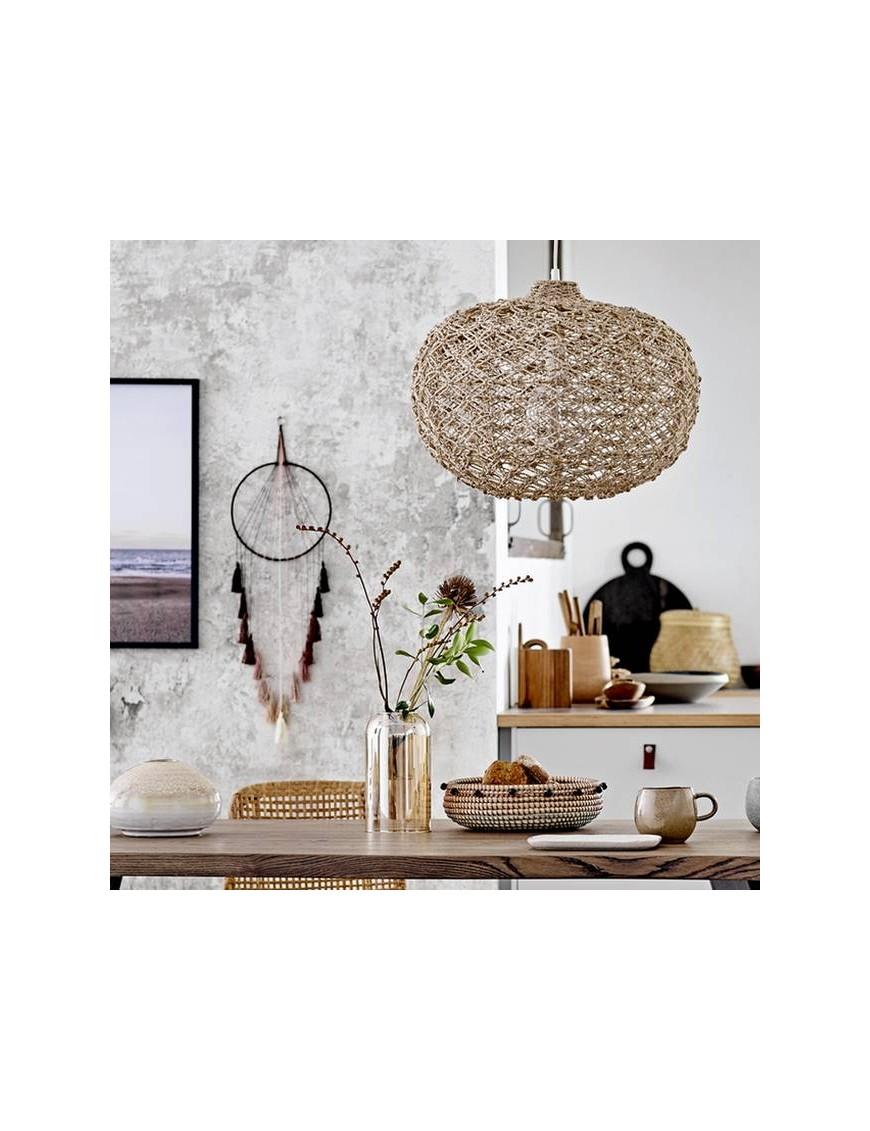 Lampe suspension, nature, acacia - Bloomingville