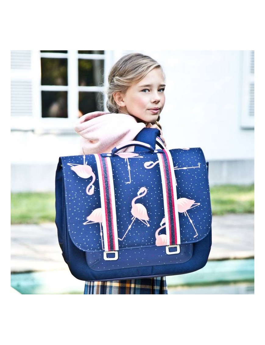 Jeune Premier - cartable it bag midi: flamingo