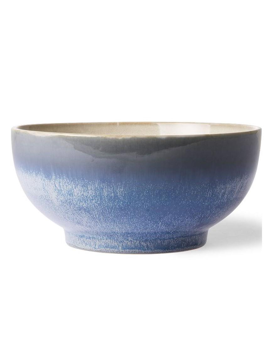 "Saladier ""ocean"" céramique 70' - HK living"