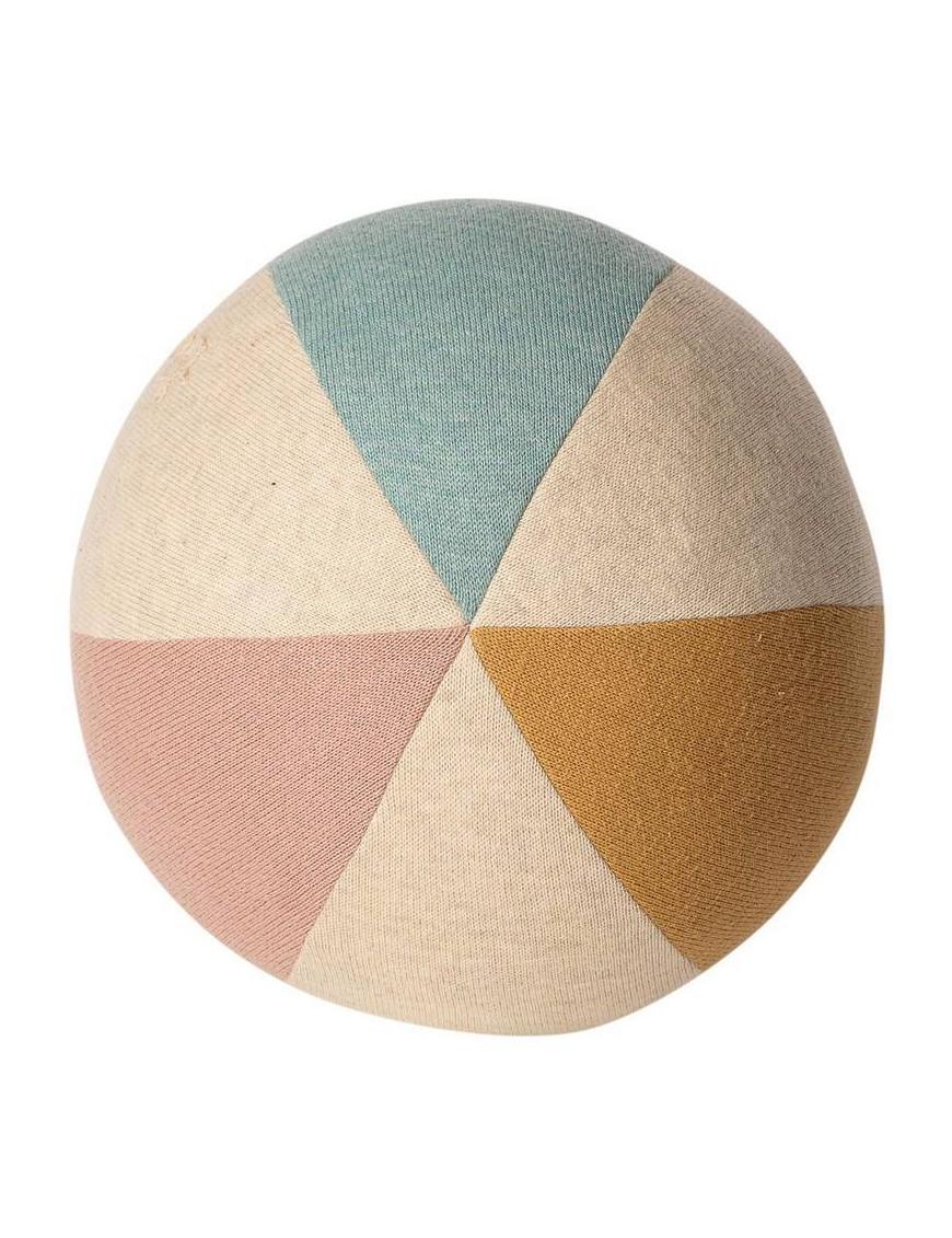 Maileg ballon souple : rose/bleu clair (D20cm)