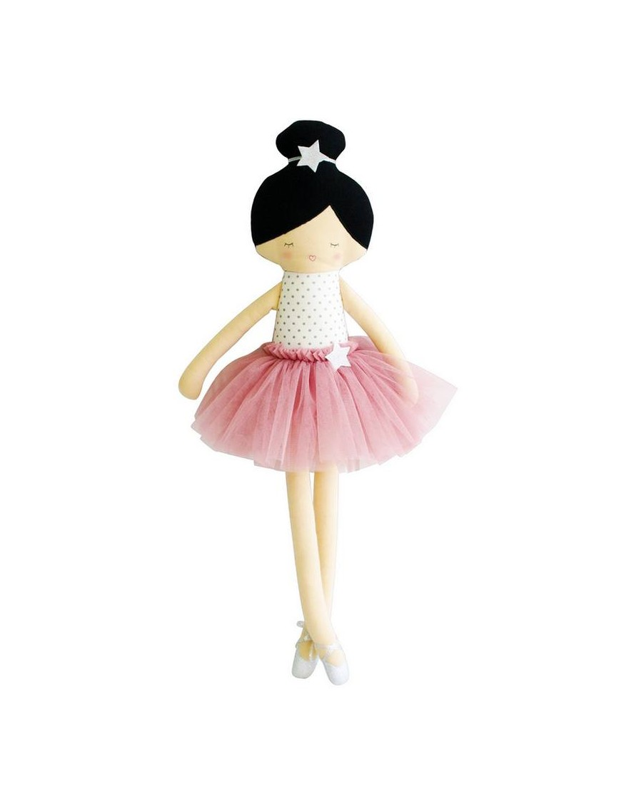 Poupée ballerine Arabella rose, 60cm ALIMROSE