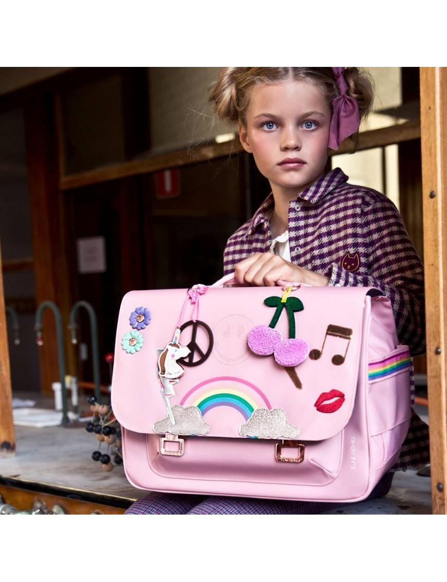 Jeune Premier cartable it bag midi lady gadget rose