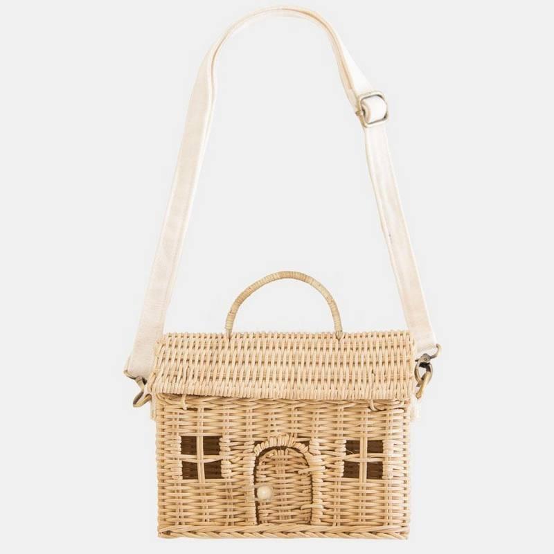 "Panier ""casa bag"", straw Olli Ella"