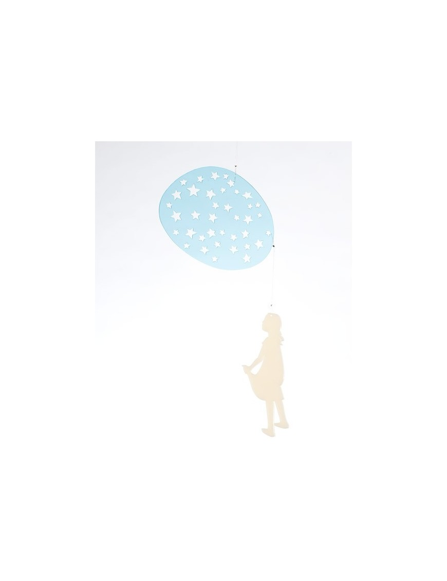 """Bomb design mobile """"la tête dans les étoiles"""""""