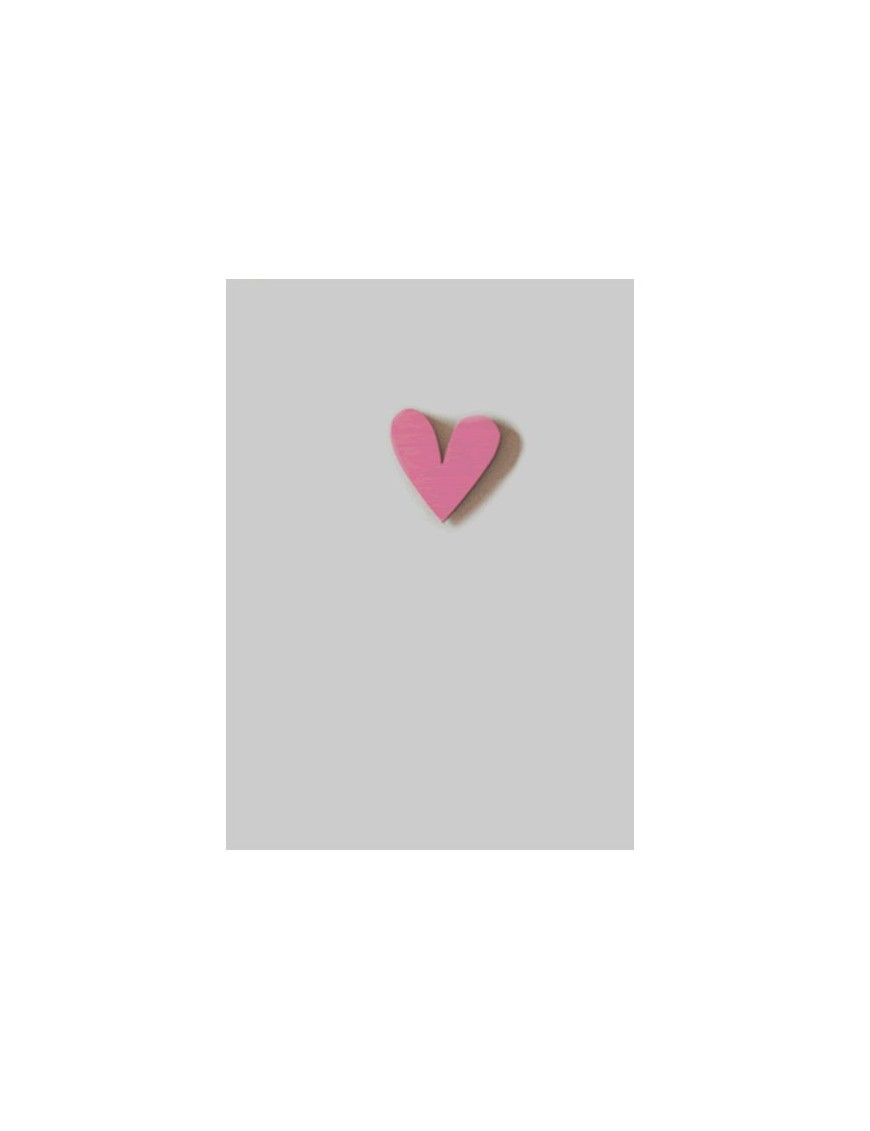 Carte double avec magnet Coeur, Miriam Berenson